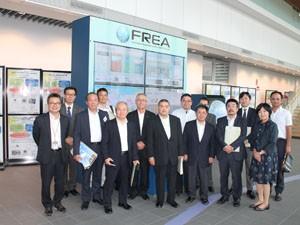 福島再生可能エネルギー研究所を視察